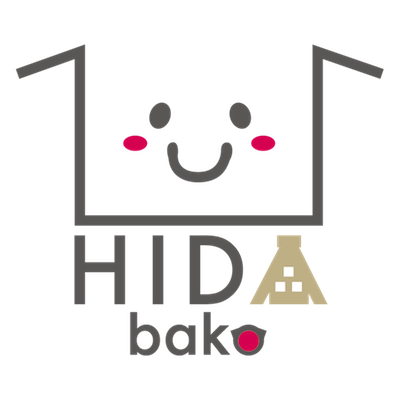 HIDABAKOロゴ