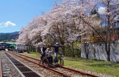 【レールマウンテンバイク Gattan Go!!】-まちなかコース-営業スタート☆